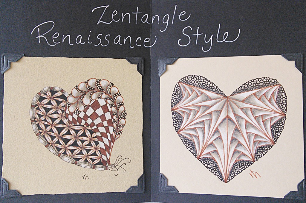 PHOTO - Zentangle(R), Renaissance Style 2015 (1)