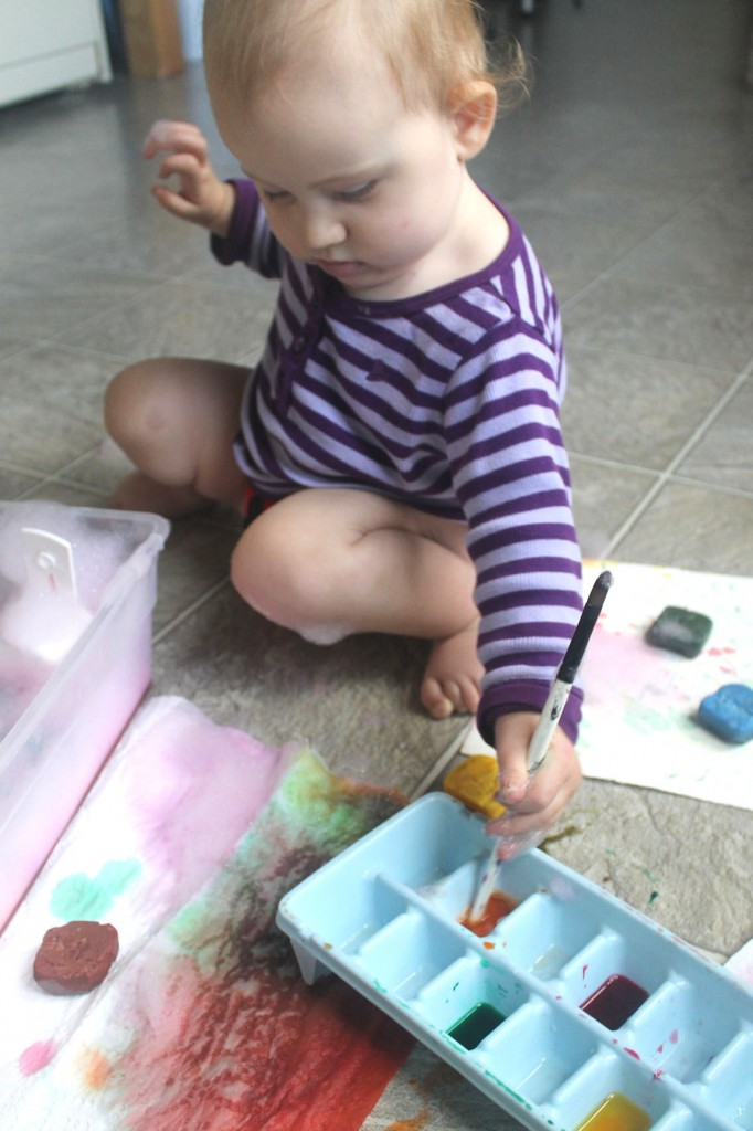 PHOTO - Tot and Me - Watercolor Exploration (1)