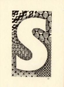 tangled letter