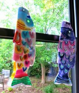 fish wind socks