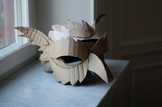 Cardboard Masks To Decorate Magnificent Mask Making With Cardboard Saturday Oct 29 1Pm  4Pm  Cam Decorating Inspiration